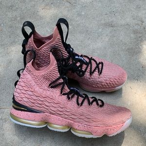 LEBRON 15 Hollywood All Star Rust Pink Sz 13.5